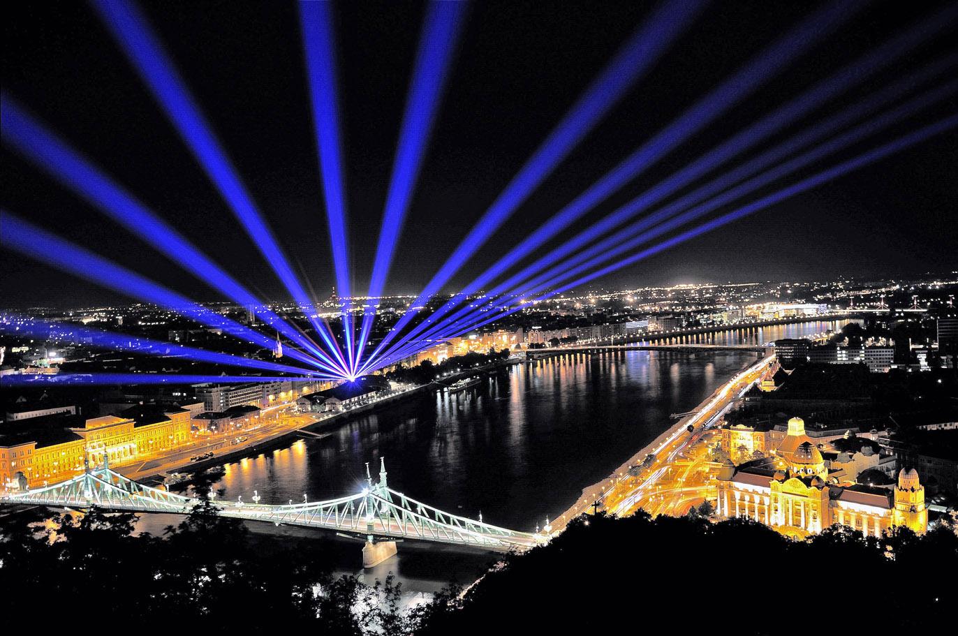 Laser Theatre, Budapest 2013